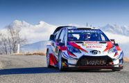 Meeke Tops Monte-Carlo Warm-up