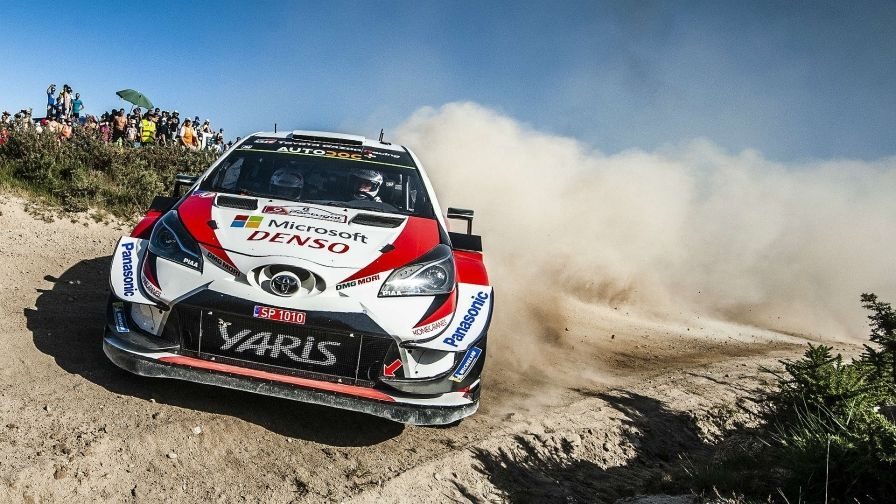 Ott Tanak Claims First Win In Portugal