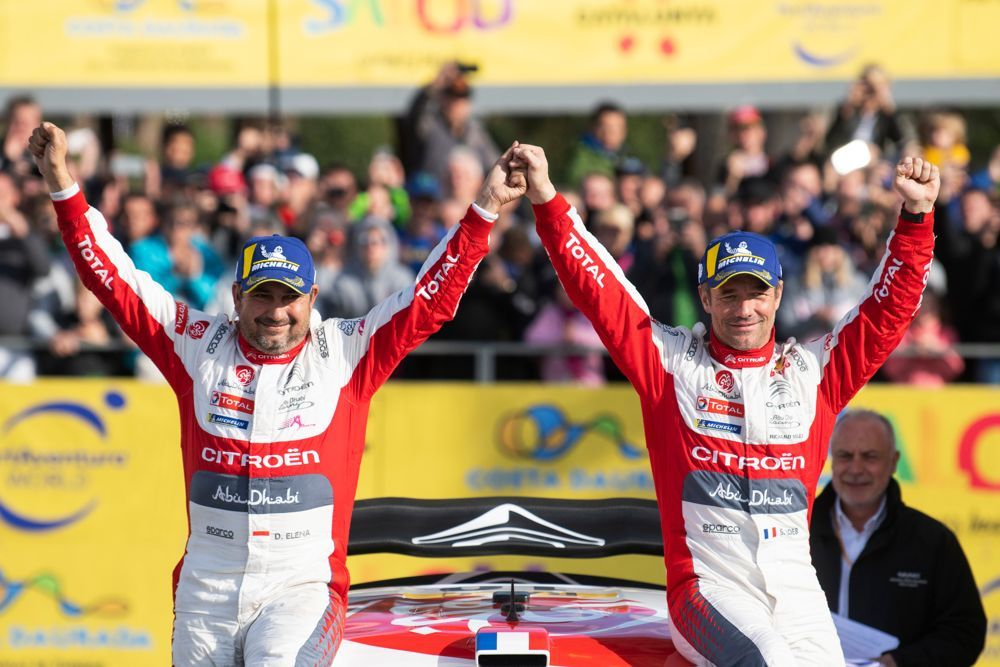 Catalunya WRC: Loeb fends off Ogier to win rally