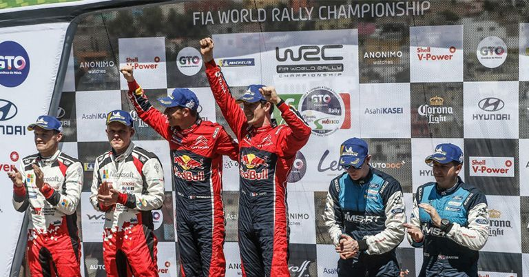 Ogier Wins in Mexico