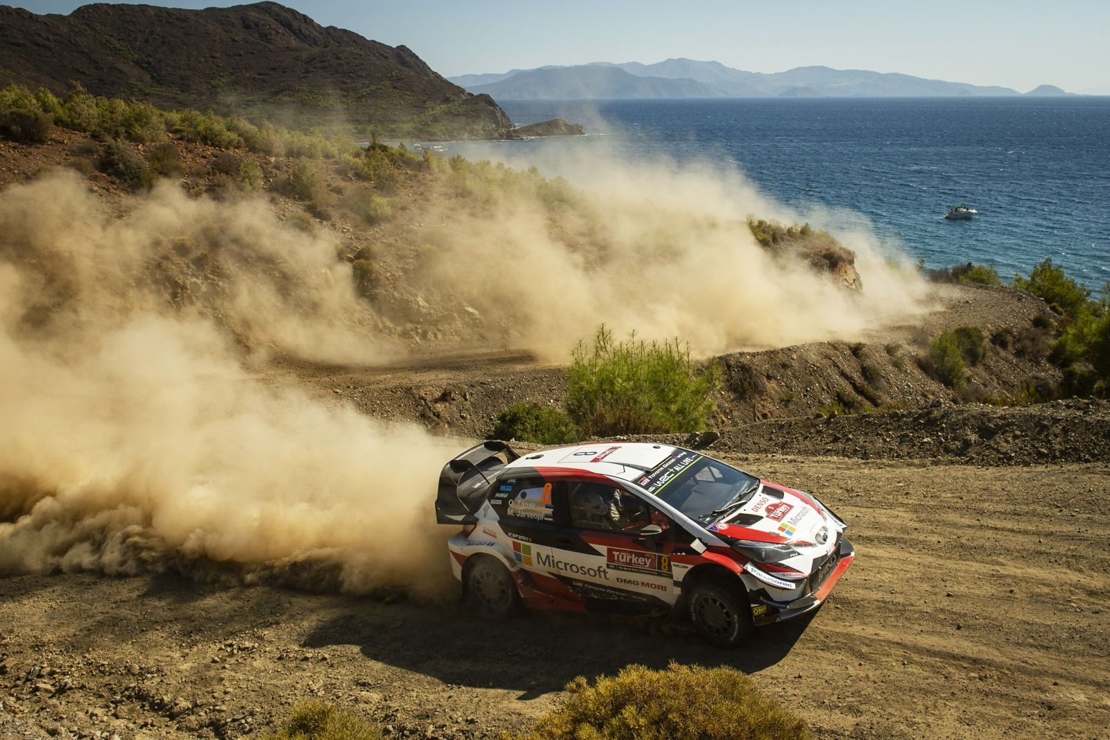 Tänak Completes Hat-trick of WRC Victories And Storms Into Title  Contention In Turkey
