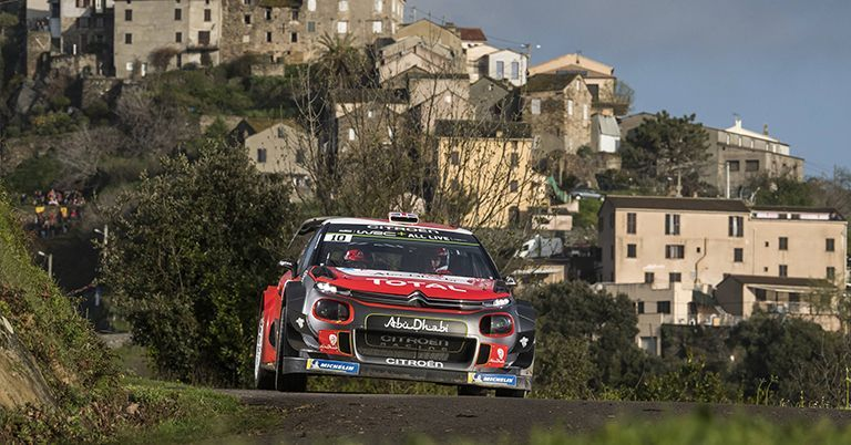 Meeke Wins Corsica Warm-Up