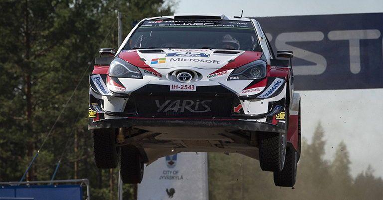 Ott Tänak win Neste Rally Finland
