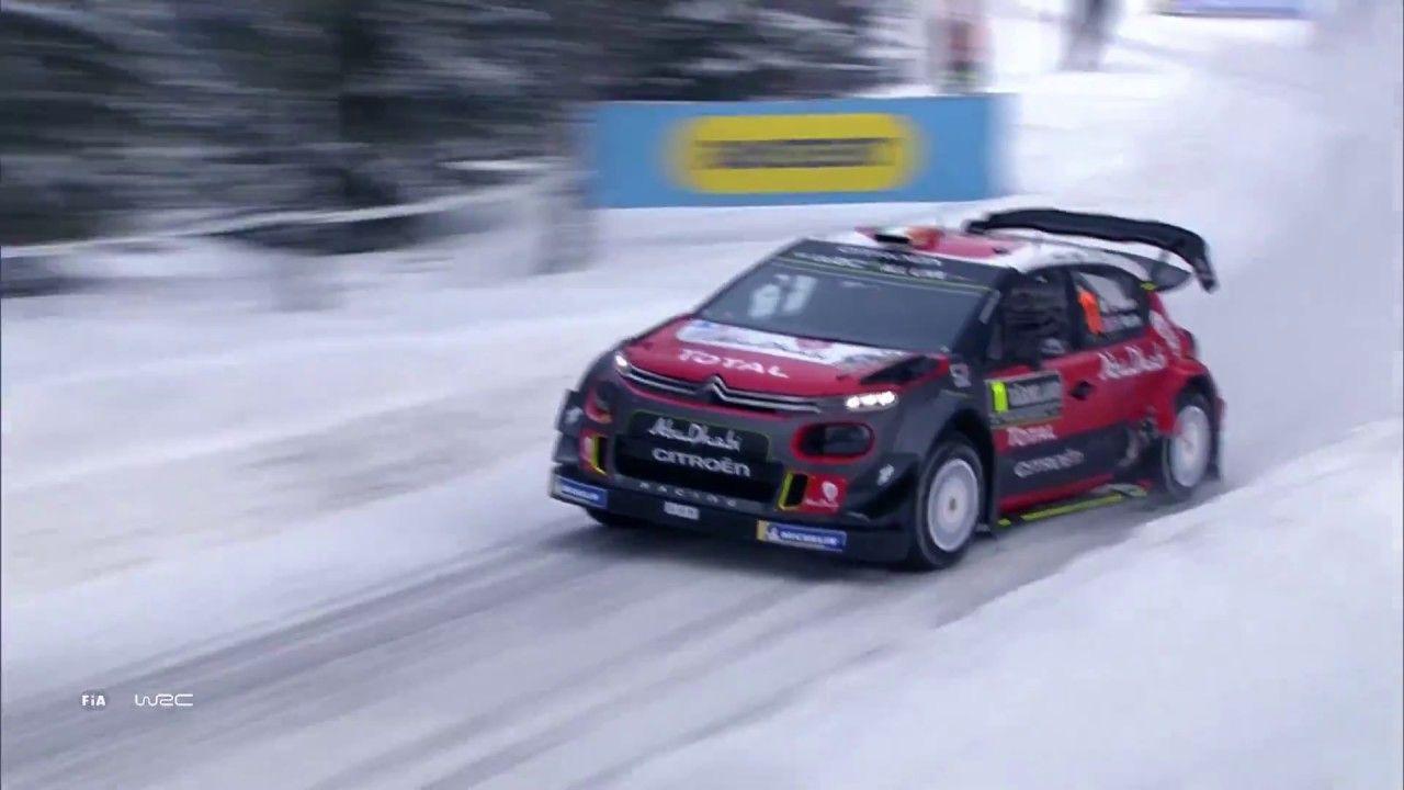 WRC – Rally Sweden 2018: Highlights