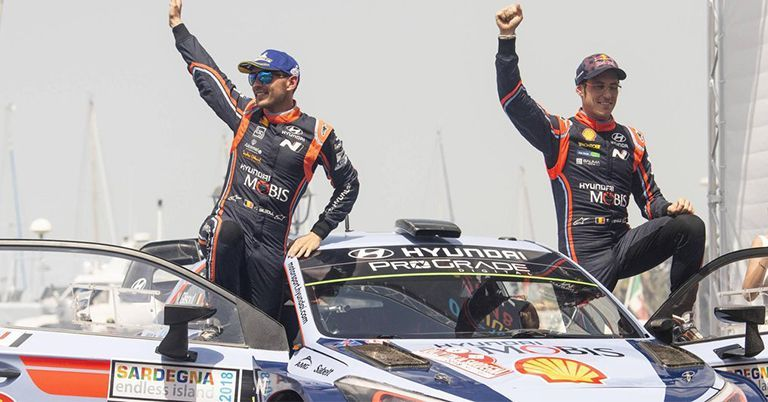 Neuville win Rally of Italy