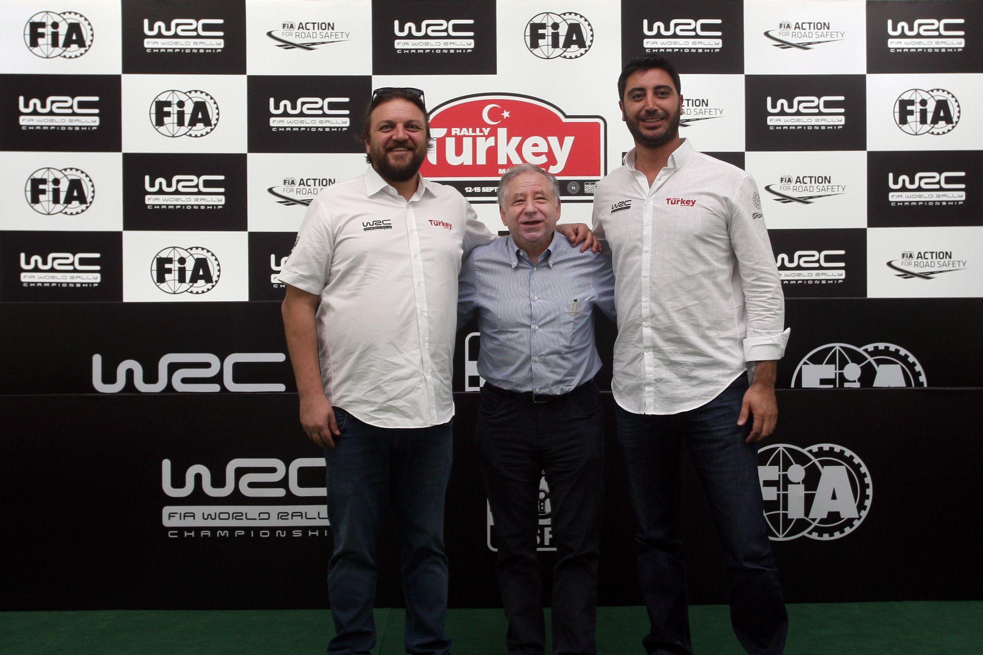 FIA President Jean Todt Visits Rally Turkey