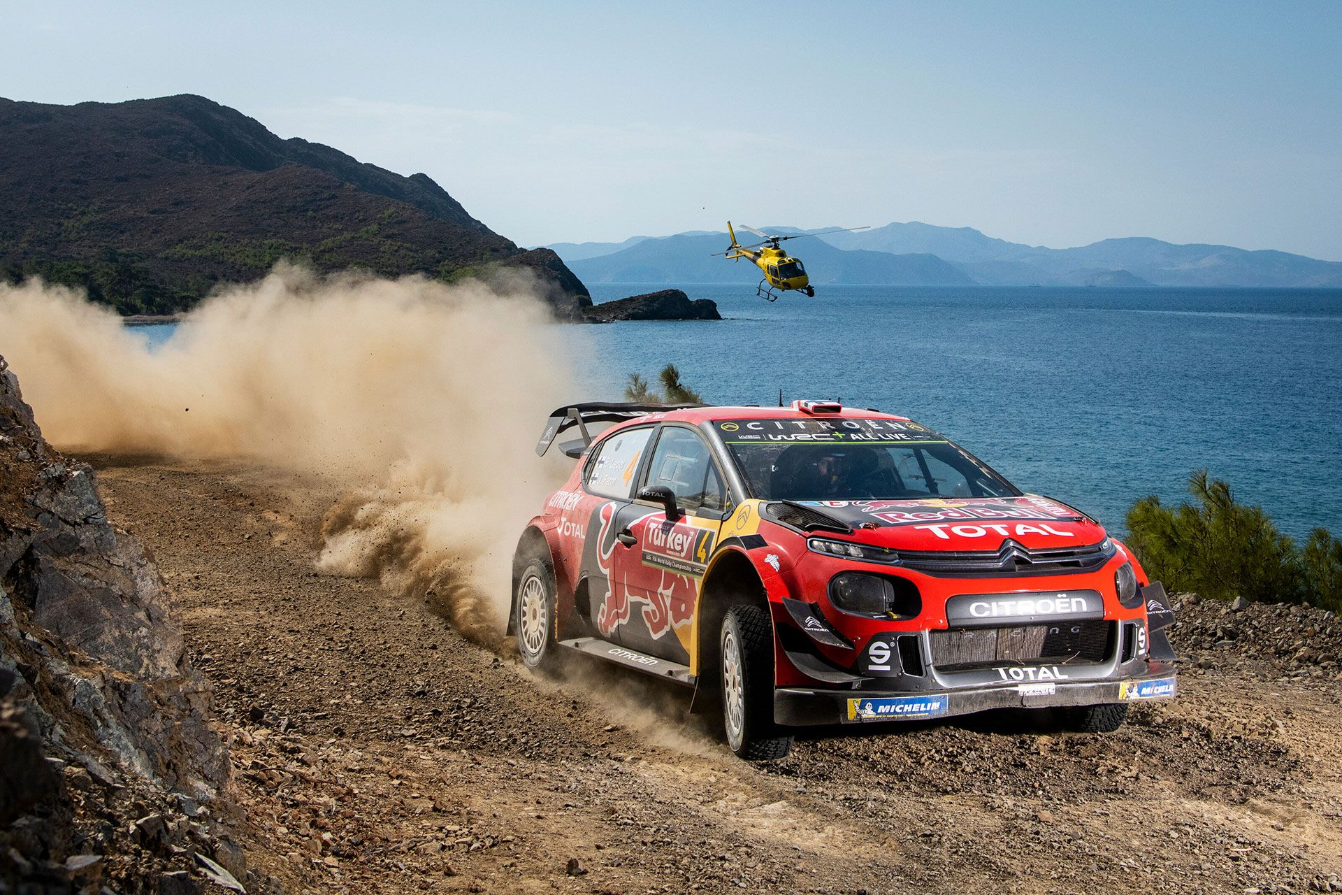 Ogier and Lappi Give Citroën a Solid One-Two at Rally Turkey